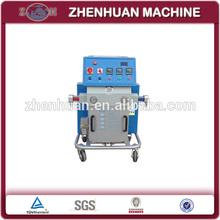 Hydraulic foam spraying machine