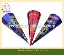 Zhejiang ice cream paper cone sleeves