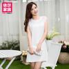 2014 Korean version of women strap dress black wild woman loose dress,Fashion dress
