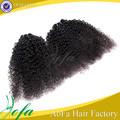 sentetik saç örgüsü Brezilyalı kıvırcık saç kıvırcık saç uzatma siyah kadın