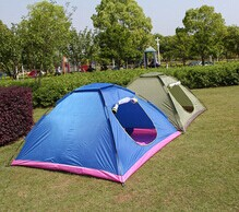 Double Layer Family Camping big Tents Are On Promotion