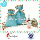 Promotional fashion custom cheap drawstring pouch bags