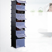 wall mounted shoe storage assembled by panels and connectors(FH-AW0189212-10)