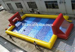 inflatable basket ball playground