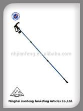 TUV/GS approved long EVA handle aluminium7075 walking sticks/trekking poles withinner lock system