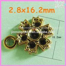 metal golden ornaments for garments & bags