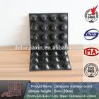 Dimpled plastic drain sheet,dimple geomembrane