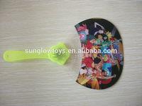 Mini Cartoon LED Flashing Fan; Decoration Hand fan