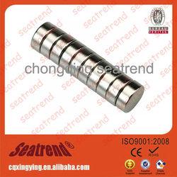 Round N35,N38,N40,N42,N45,N48,N50,N52,(M,H,SH,UH,EH) Permanent Neodymium Rare Earth N35 Magnet