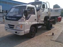 white Foton ollin light truck/new foton truck/4ton Foton Forland light truck