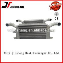 China manufacturer of Customized made vacuum brazed air cooled plate&bar aluminium mercedes benz oil cooler radiator
