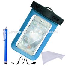 2014 Summer Beach Transparent Waterproof Bag for Smartphone,pvc waterproof bag