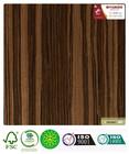 composite engineered wood veneer ebony 704s basswood raw material door veneer Fashionable Ordinary Materials