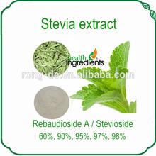 High qualitystevia rebaudiana/ stevia extract stevioside 90% Reb-A98%