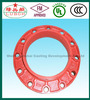 sand casting ductile iron casting industrial market grooved flang