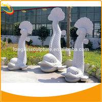 Stone Fish Sculpture Garden Fish Statues Marble Sculpture