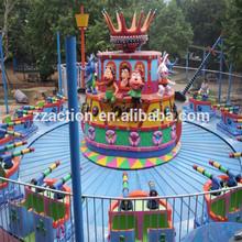 amusement park ride fighting Caribbean pirates