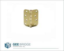 "0203108 Steel 1/16"" Gap Ball Plain Bearing Door Butt Hinge"