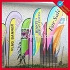 cheap custom promotional feather flag