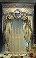 nueva moda mejor calidad de poliéster de venta oem elegante cortina de la ventana