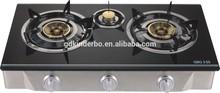 JK-703 3 burner glass top gas stove