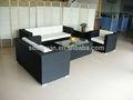 Ao ar livre do rattan sintético plástico sofá de cana dw-sf024kd set