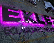 LED outdoor backlit sign board, backlit advertising sign
