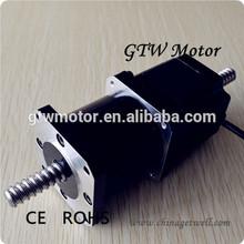 brand new special high performance ball screw stepper motor, nema 23 linear stepping motor, 23HS4404-200GT1204