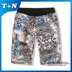 wholesale women sexy boy xxx leopard print shorts