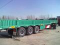 chine 2014 3 essieu 40t paroi latérale camion semi remorque semitrailer