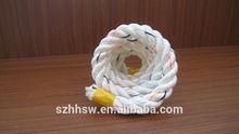 De calidad superior de plástico paquete de la cuerda / cuerda de nylon para el paquete