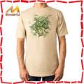 Do músculo dos homens de bambu equipado t-shirt feitos sob encomenda shirts / alta qualidade 100 algodão penteado t camisas, Oem / ODM aceite