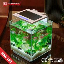 SUNSUN new patent nano view fish tank fish farming tank for coffe table