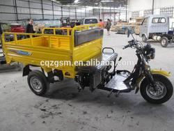 sitting type cargo three wheel motorcyle
