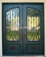 luxury wrought iron entry door FD-391