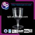 venta caliente 5oz material de seguridad fabricados en china desechables de plástico barato al por mayor vasos de vino