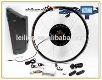 48v 1000w motor e bike kit 48V1000W electric bicycle front rear wheel conversion kit