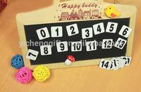 Customized Educational Numeral Fridge Magnet