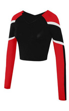 2014 Norns Hot Black and red Cheerleading Wear