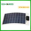 10w poly semi-flexible solar panel thin film flexible roofing solar panel