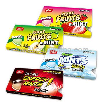 14.4g Double Sour Fruit & Mint/Super Mint/Energy Mints
