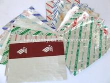 Aluminium Foil Packaging for food hamburger wraps