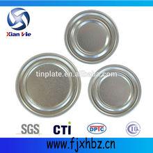 Normal de soda 52mm puede tapas de hojalata por/de aluminio