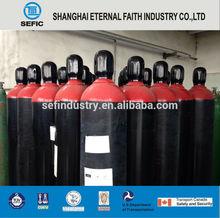 iso9809 bombola del gas in acciaio senza saldatura bombola di ossigeno portatile