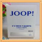 Manufacturer Accept Custome Disposable Plastic Clothes Folding Box