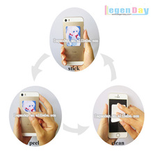 promotional gift microfiber sticker mobile screen cleaner