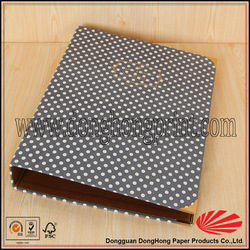 China printing manufacturer fashion handmade paper file folder