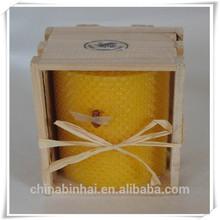 Fashion beewax candle/rolled beewax candle/custom beewax candle