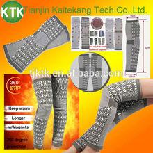Popular gift long magnetic knee wraps