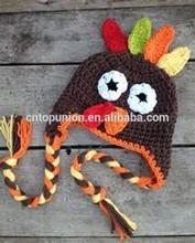 Thanks giving day crochet hat Baby Boy/Girl Crochet Owl Animal Beanie Hat cute baby crochet hat